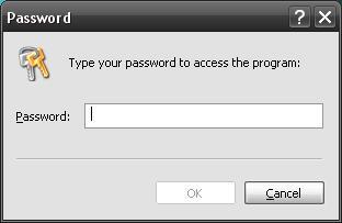 Lock folder pass