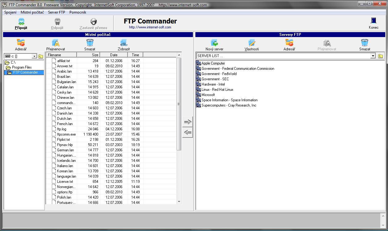 FTP Commander