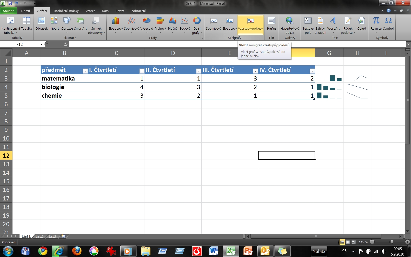 MS Office 2010 - Excel