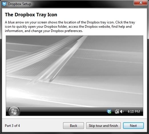 Instalace Dropboxu