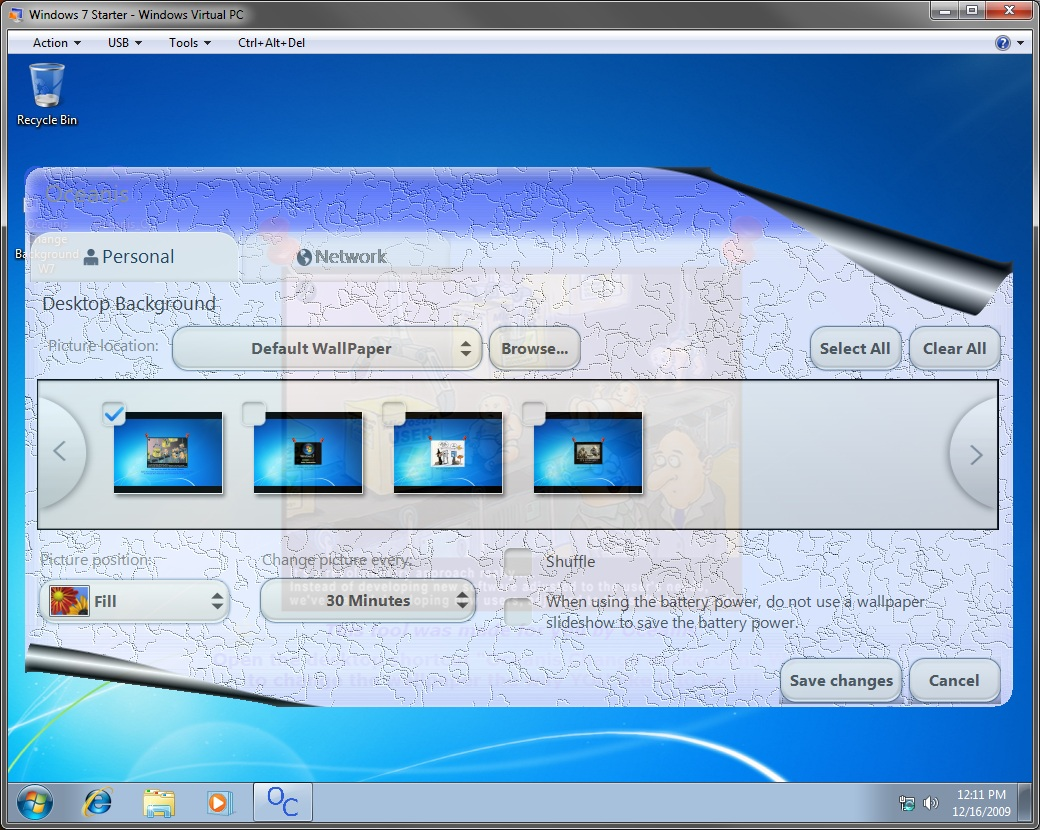 Oceanis Change Background Windows 7
