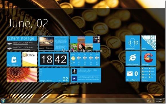 Windows 8 GUI