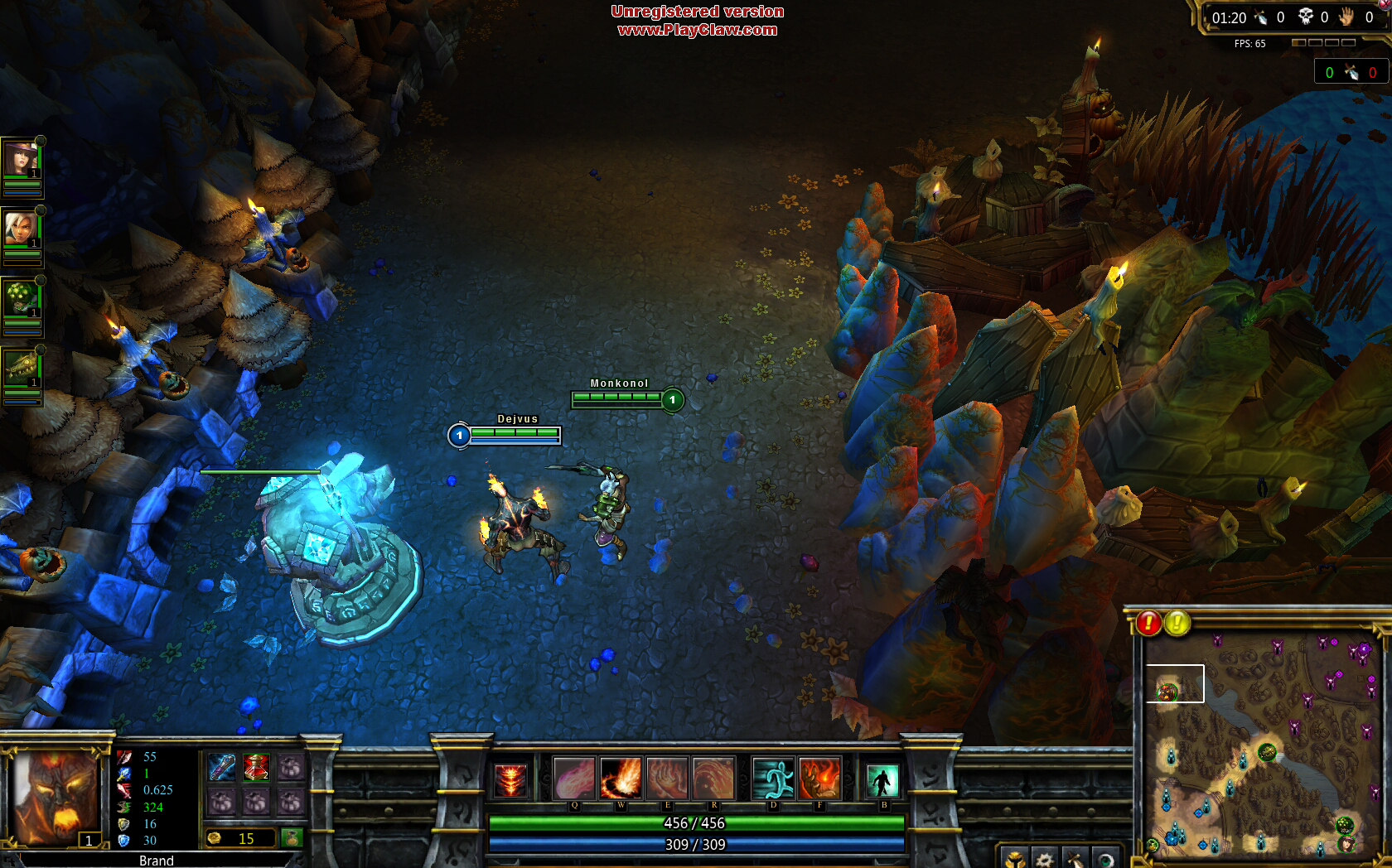 Game Camcorder: League of Legends