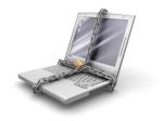 Lock laptop - safe internet