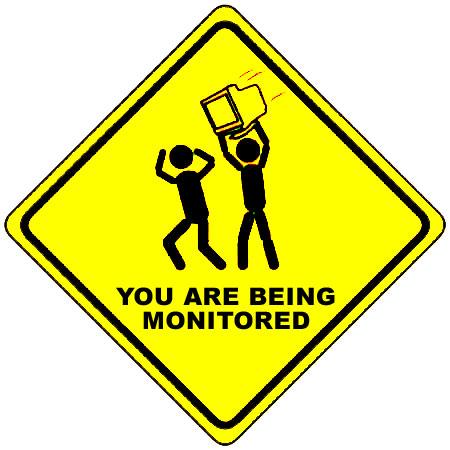 Jste monitorován
