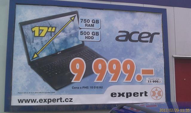 Luxus úlovek z Prahy - 750GB RAM u experta není problém!