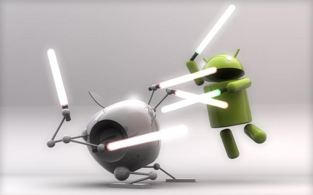Apple vs. Android: Boj ve stylu Star Wars
