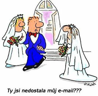 Ty jsi nedostala můj email?