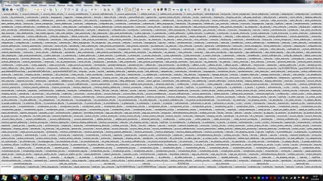 Mnoho práce v PSPad Editoru