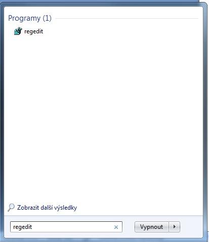 regedit Start
