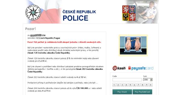 virus Policie České republiky