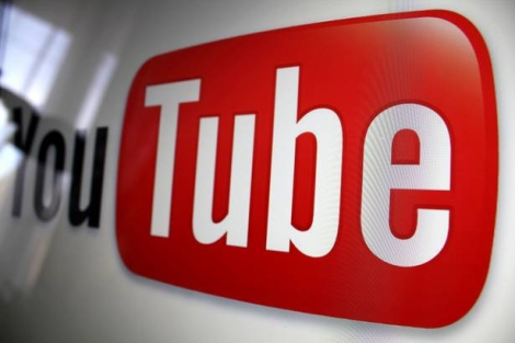 YouTube logo building